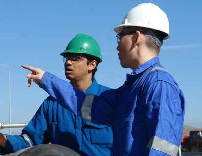 English level assessments for Schlumberger